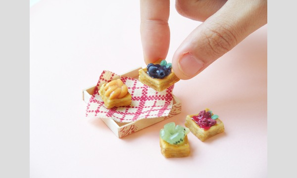 【7/22(日)】粘土クラフトで小さなフルーツデニッシュをつくろう in minneのアトリエ 福岡 イベント画像1
