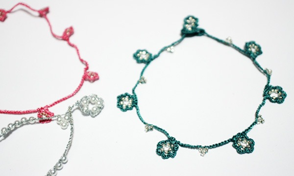 1/18(木) オヤ糸でお花のブレスレットを編もう in東京イベント