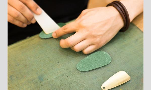 【9/7(金)】革と糸の色を選んで作る 革の靴べらキーホルダーづくり in minneのアトリエ 福岡 イベント画像3