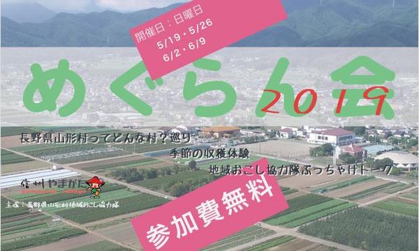 【 参加費無料 】5~6月日曜日開催《 めぐらん会 2019春 》 イベント画像1