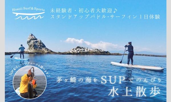 【Hosoii Surf & Sports】未経験者・初心者大歓迎 茅ヶ崎の海をSUPでのんびり水上散歩 イベント画像1