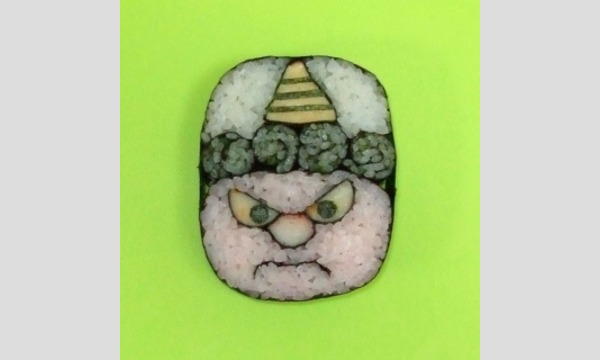 節分の鬼のデコ巻き寿司を作ろう!【ミニツク・ワークショップ】 イベント画像1