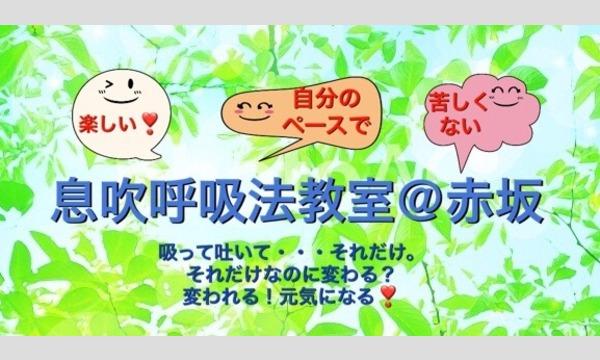 心身を癒し自然治癒力を上げる【息吹呼吸法教室】初級クラス 。古代から伝わる日本の気候風土に合った呼吸法です。 in東京イベント
