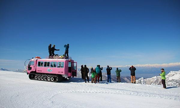 360度絶景と国道最高地点へ 3/19 キャット スノーシューツアー イベント画像2