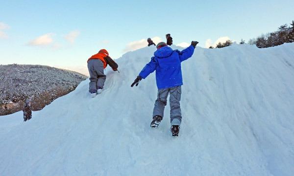 春休みは親子で一日雪遊び。ミステリースノーシュー&かまくら・雪灯篭体験 イベント画像2