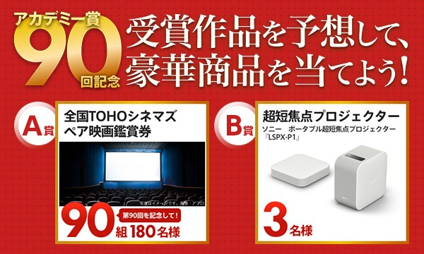 Yahoo!映画 第90回アカデミー賞2018 作品賞予想『レディ・バード』