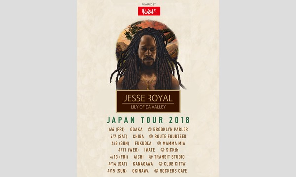 JESSE ROYAL -LILY OF DA VALLEY- JAPAN TOUR 2018 in NAGOYA イベント画像1