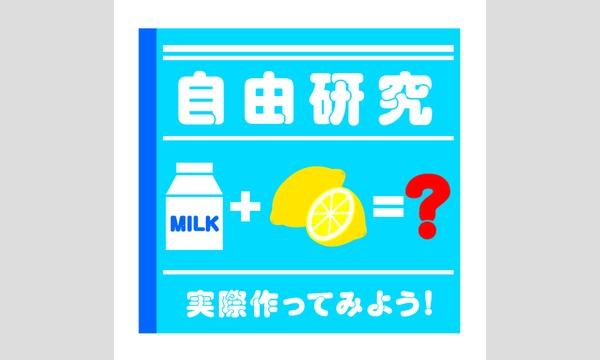 """おかしなお菓子な「自由研究」シリーズ第3弾 """"ミルクってすごい!乳製品作り体験""""(1日目) イベント画像3"""