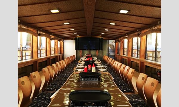 【東京ウォーカー】東京を海からビュー!屋形船に乗ってお台場&豊洲クルージング イベント画像2