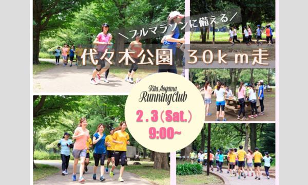 フルマラソンに備える!~代々木公園 30km走~ イベント画像1