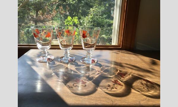 Creemaの【11/18 AM・PM】南仏のグラスペイントで手描きのワイングラスをつくろう!Creema 秋のワークショップイベントイベント
