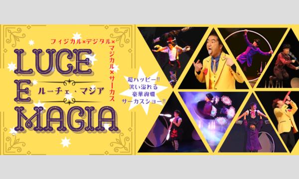 フィジカル×デジタル×マジカル×サーカス 【LUCE  E  MAGIA 】   〜ルーチェ•マジア〜