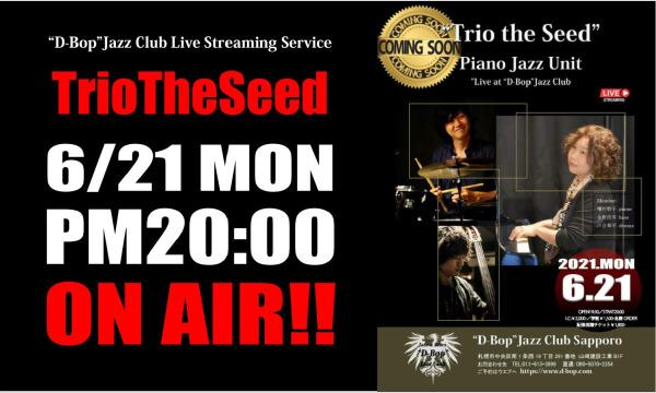 """""""Trio the Seed"""" Live At """"D-Bop""""Jazz Club イベント画像1"""