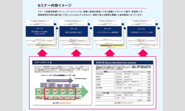 ステージゲート式「ステージ別販売戦略ブラッシュアップメソッド」導入セミナー(ステージ3) イベント画像2
