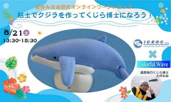 夏休み自由研究オンラインワークショップ「粘土でザトウクジラを作ってくじら博士になろう!」 イベント画像1