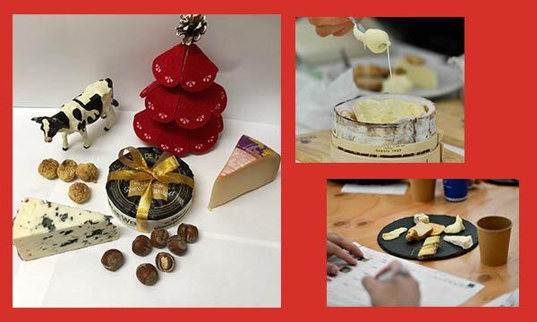 主催:新潮社のチーズのおいしい講座2020イベント
