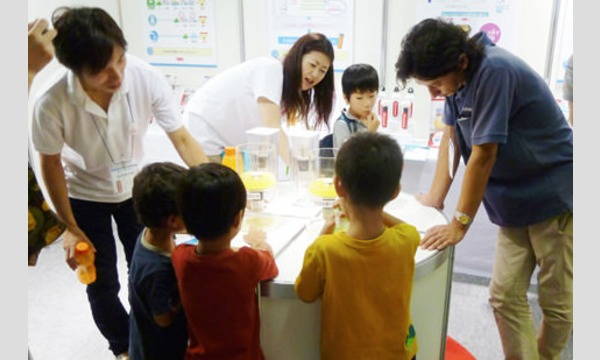 夏休み子ども向け企画 水のろ過実験ワークショップ イベント画像1