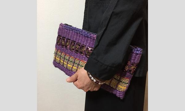 手織りワークショップ「おりりんで輪織りラメクラッチを作ろう」(主催:ものづくり館 by YKK) イベント画像2