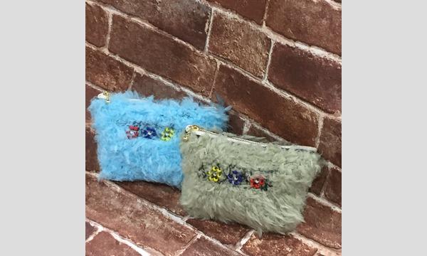 ワークショップ「ビーズ編み模様のふわふわポーチを作ろう」(主催:ものづくり館 by YKK) イベント画像1