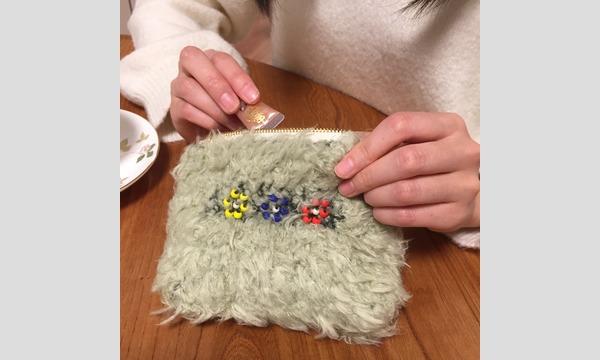 ワークショップ「ビーズ編み模様のふわふわポーチを作ろう」(主催:ものづくり館 by YKK) イベント画像2