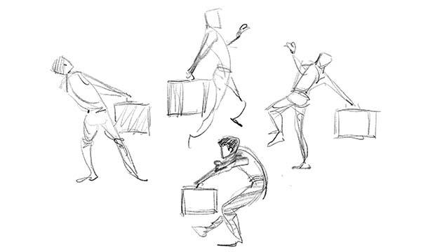 【LiveUP】たてなか流クイックスケッチ塾 出版記念セミナー<動きと感情の手掛かりを見つけ、表現を考える> イベント画像2