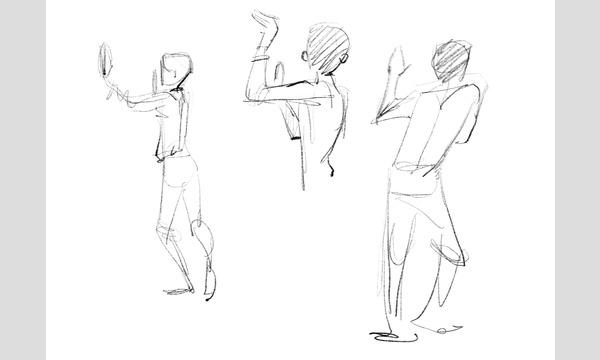 【LiveUP】たてなか流クイックスケッチ塾 出版記念セミナー<動きと感情の手掛かりを見つけ、表現を考える> イベント画像3