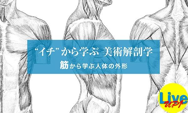 """【LiveUP】""""イチ""""から学ぶ 美術解剖学 筋から学ぶ人体の外形 イベント画像1"""
