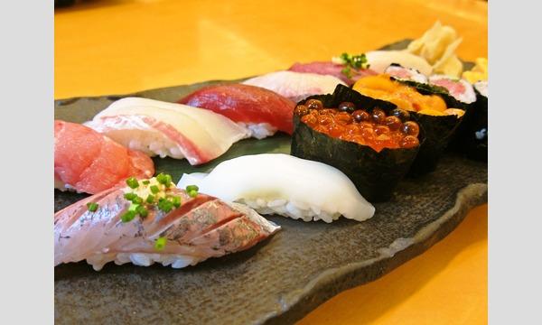 公益財団法人東京都公園協会の市場移転間近!築地で食べる江戸前寿司と落語と水上バスイベント