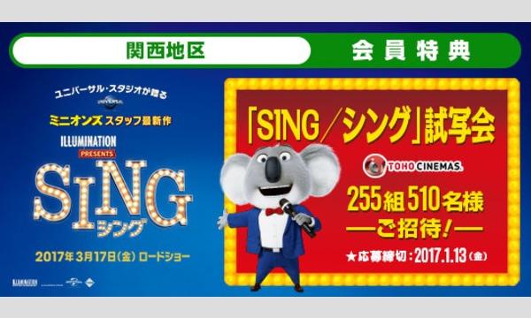 07.【関西地区】映画「SING/シング」試写会にご招待!