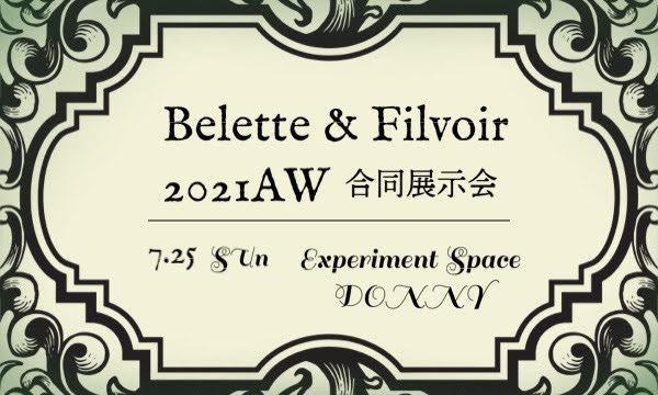 Belette&Filvoir 2021AW合同展示会 イベント画像1