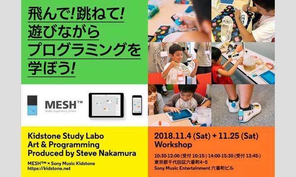 [11/4(日)開催]KIDSTONE STUDY LABO<アート&プログラミング> イベント画像1