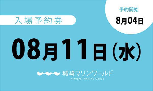 08月11日(水)入場予約券〈城崎マリンワールド〉