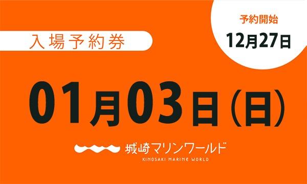 城崎マリンワールドの01月03日(日)入場予約券〈城崎マリンワールド〉イベント