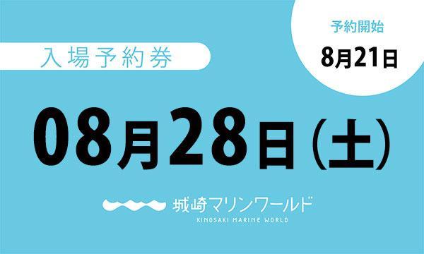 08月28日(土)入場予約券〈城崎マリンワールド〉 イベント画像1