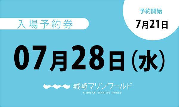 07月28日(水)入場予約券〈城崎マリンワールド〉